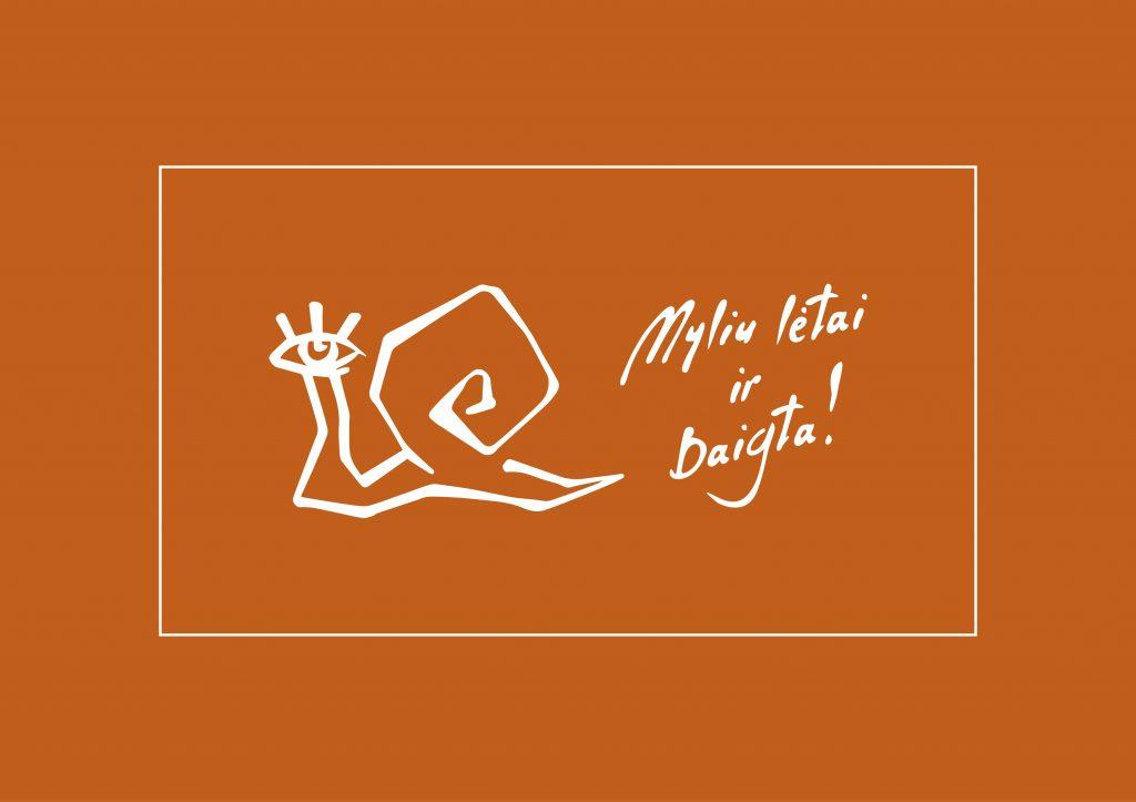 Logotipo spalva oranžinė